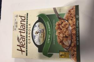 Low Fat With Almonds Granola