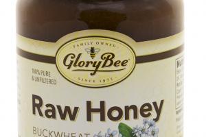 Raw Buckwheat Blossom Honey