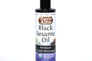 Black Sesame Oil Artisan Cold-pressed