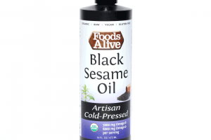 Artisan Cold-pressed Black Sesame Oil