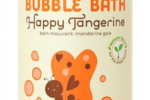 Moisturizing Bubble Bath Happy Tangerine With Aloe & Chamomile