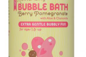Moisturizing Bubble Bath, Berry Pomegranate