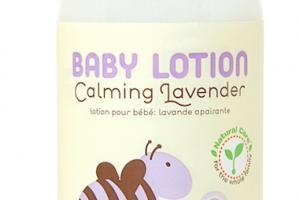 Nourishing Baby Lotion, Calming Lavender