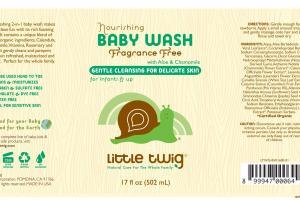 Nourishing Fragrance Free Baby Wash