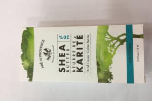 Hand Cream, Shea Butter, Original