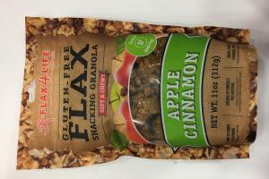 Gluten-free Flax Snacking Granola