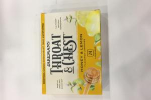 Honey & Lemon Flavored Lozenges