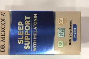 Sleep Support With Melatonin Dietary Supplement