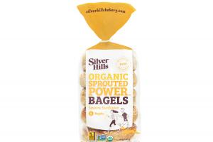 Organic Sprouted Power Bagels