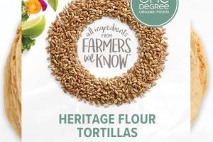 Heritage Flour Tortillas