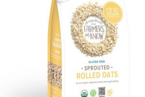 Sprouted Rolled Oats