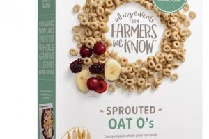 Sprouted Oat O's Toasty Organic Whole-grain Oat Cereal