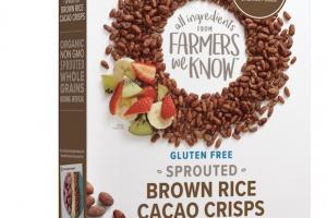 Sprouted Brown Rice Cacao Crisps