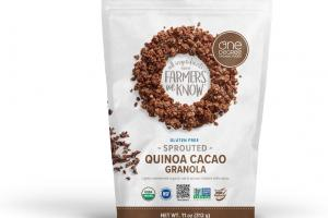 Sprouted Quinoa Cacao Granola