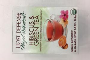 Hibiscus & Green Tea Dietary Supplement