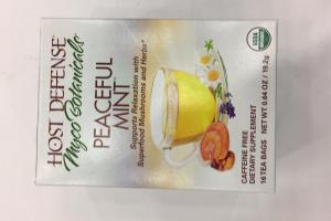 Peaceful Mint Dietary Supplement