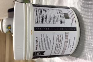 Gym & Tonic Collagen Protein Unflavored Powder