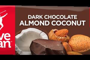 Paleo Dark Chocolate Almond Coconut Bar