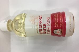 100% Pure Red Ginseng Water
