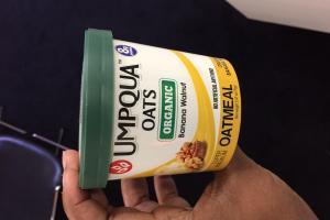 Organic Banana Walnut Oatmeal