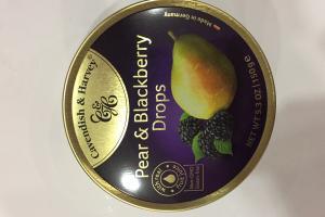 Pear & Blackberry Drops