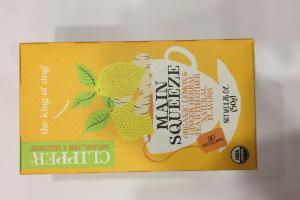 Main Squeeze Organic Lemon & Ginger Herbal Tea