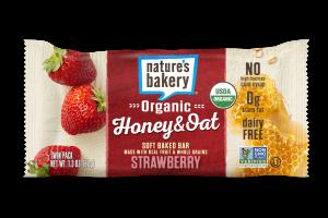 Organic Honey & Oat Soft Baked Bar