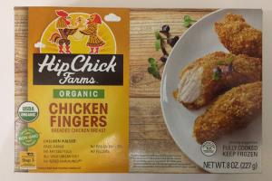 Organic Chicken Fingers Breaded Chicken Breast