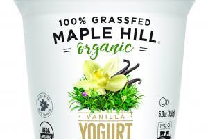 Organic Whole Milk Vanilla Yogurt