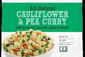 All Natural Cauliflower & Pea Curry