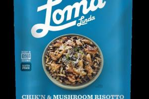 Chik'n & Mushroom Risotto With Wild Rice