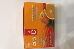 Effervescent Powdered Drink Mix Dietary Supplement