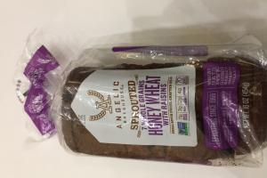 Sprouted 7 Whole Grains Hone Wheat With Raisins Bread