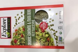Organic Edamame & Mung Bean Fettuccine
