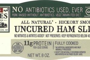 Uncured Ham Slices