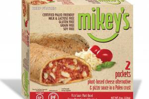 Pizza Sauce, Plant-based Cheese Alternative In A Paleo Crust