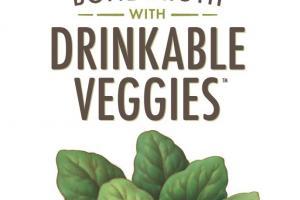 Bone Broth & Vegetable Beverage