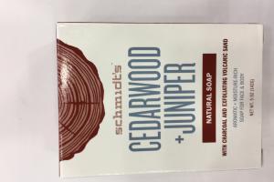 Cedarwood + Juniper Natural Soap