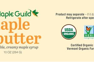 Spreadable, Creamy Maple Syrup
