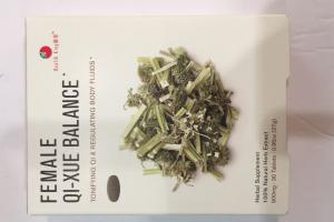 Female Qi-xue Balance Herbal Supplement