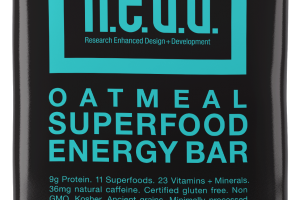 Oatmeal Superfood Energy Bar