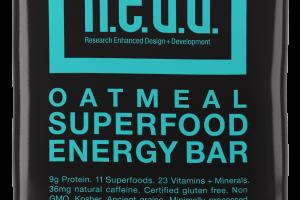 Oatmeal Superfood Energy Bar