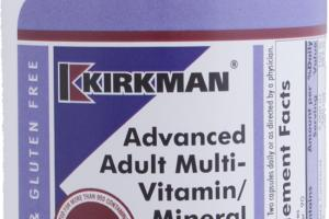 Advanced Adult Multi-vitamin/mineral With 5-mthf Dietary Supplement