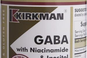 Gaba With Niacinamide & Inositol Dietary Supplement