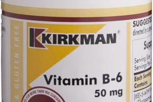 Vitamin B-6 50 Mg Dietary Supplement