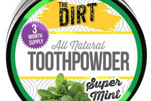All Natural Toothpowder