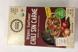Organic Sunflower Chili Sin Carne