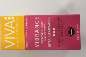 Vibrance Age Defying Luxury Face Oil For Day, Neroli + Jasmine Red Raspberry