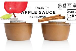 Apple Sauce + Cinnamon
