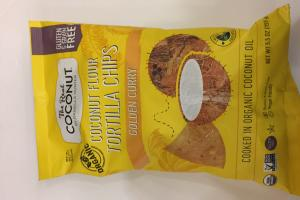 Coconut Flour Tortilla Chips